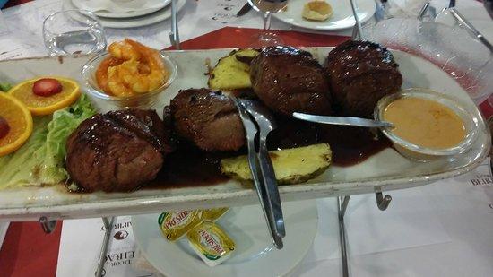 Pedra Alta : Bull's meat.