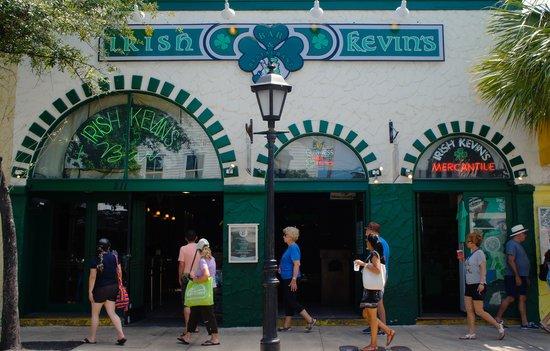 Photo of American Restaurant Irish Kevin's Bar at 211 Duval St, Key West, FL 33040, United States