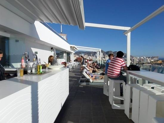 Villa Del Mar Hotel: rooftop chill bar