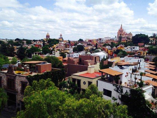 Rosewood San Miguel de Allende: Vista desde la terraza de la azotea