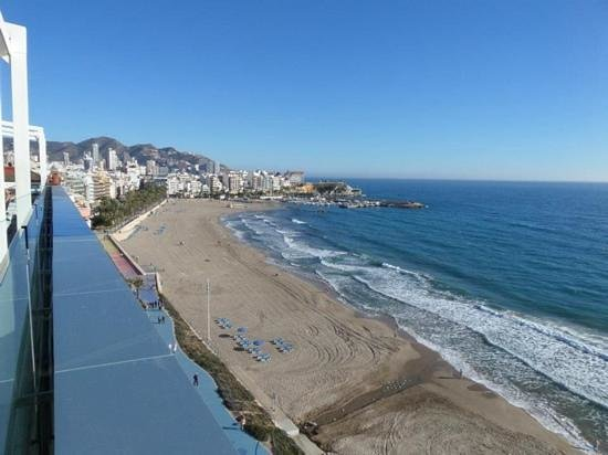 Villa Del Mar Hotel: view from the rooftop bar