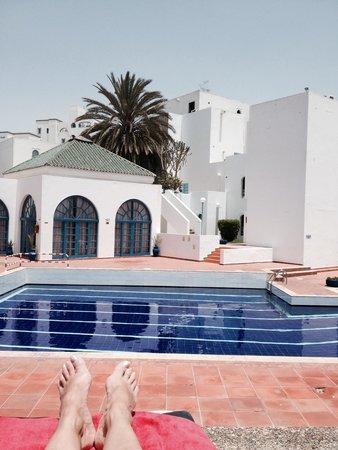 Igoudar Aparthotel: Vue piscine
