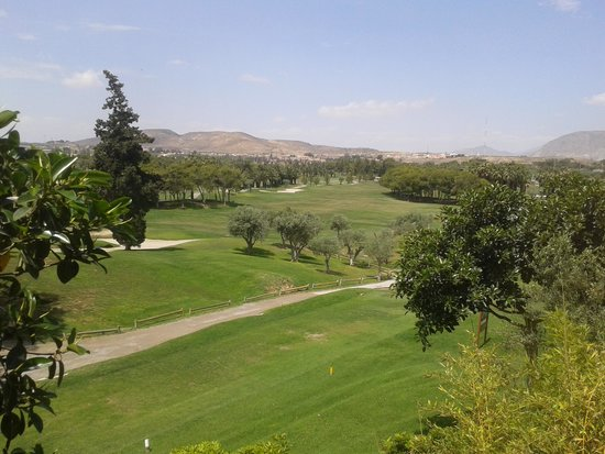 El Plantio Golf Resort: View from our balcony