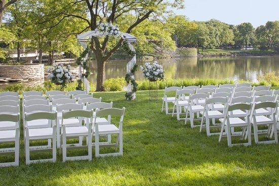 The Hyatt Lodge at McDonald's Campus : The perfect wedding venue awaits.
