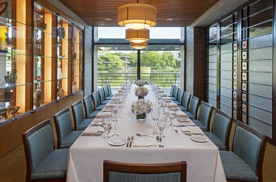 The Hyatt Lodge at McDonald's Campus : Private Dining Room space is available.