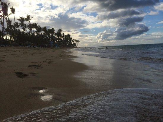 Sirenis Punta Cana Resort Casino & Aquagames: Пляж красивый