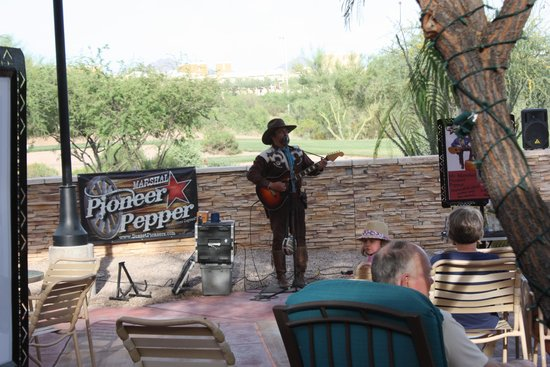 Marriott's Canyon Villas : Cowboy Music Show