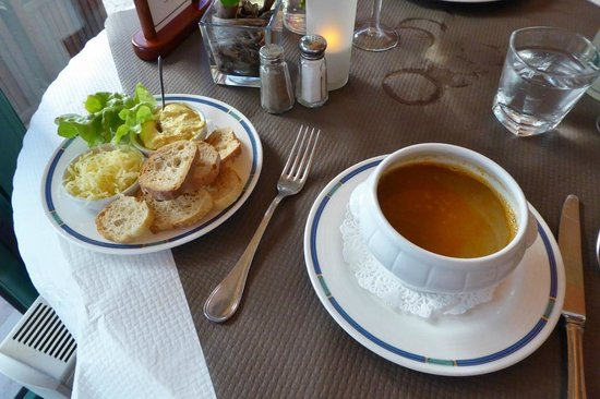 Le Capitole : Fischsuppe