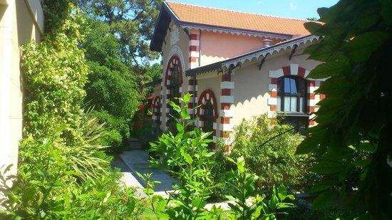 Hotel Ville d'Hiver : vue du balcon