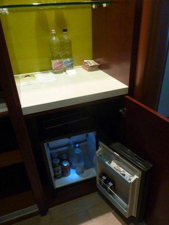 Lion's Garden Hotel : Kühlschrank/Minibar