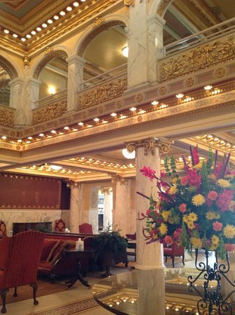 French Lick Springs Hotel: Front Lobby