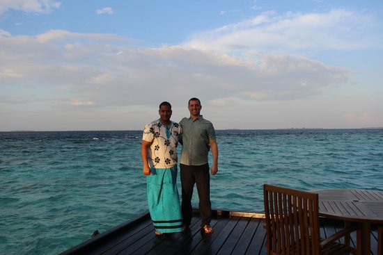 Adaaran Prestige Water Villas: My friend Indika!