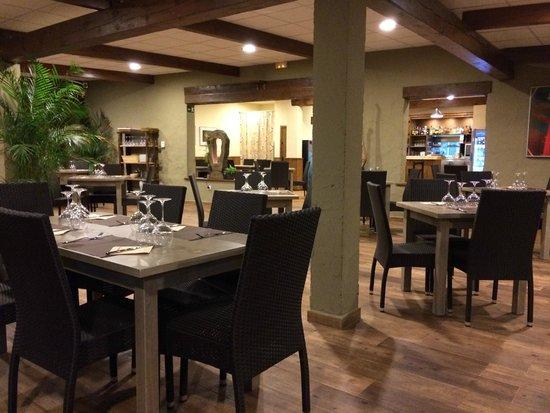 Restaurante La Mina: O espaço