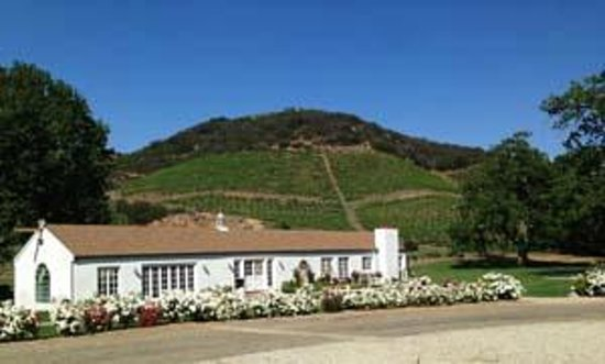 Triunfo Creek Vineyards: Ranch House front view.