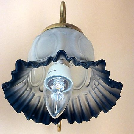 The Old Wisteria Hotel: Ornamental Wall Light