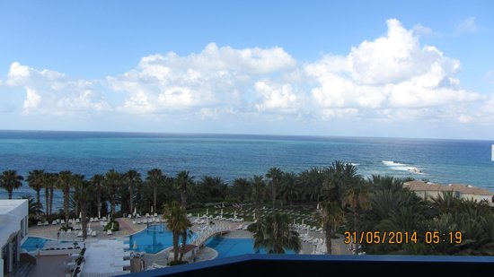 Ascos Coral Beach Hotel: view from the room