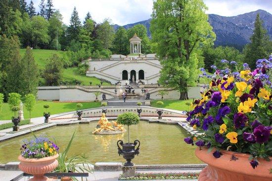 European Castles Tours: Linderhof Palace Grounds