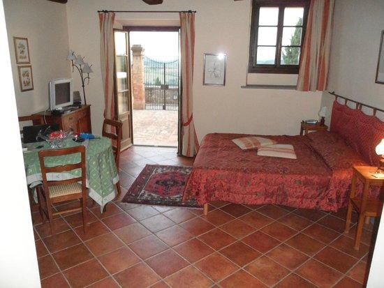 Villa San Filippo Resort: chambre sur terrasse