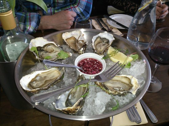 O'Grady's on the Pier: oysters