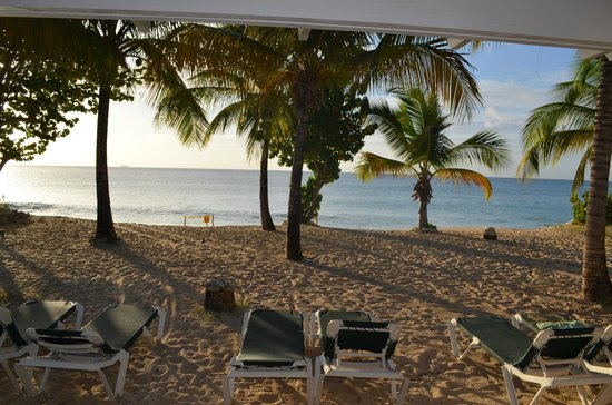Galley Bay Resort & Spa : View from Premium Beachfront Suite Rm 25