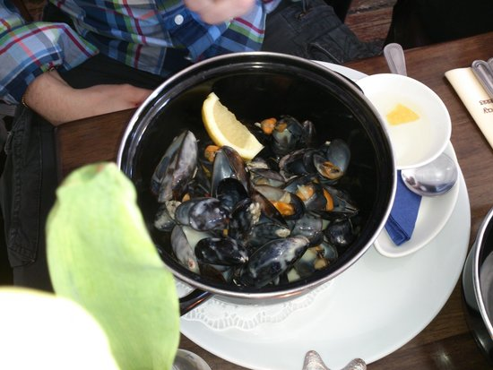 O'Grady's on the Pier : mussels