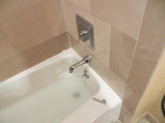 The Ritz-Carlton, Atlanta: Broken tub