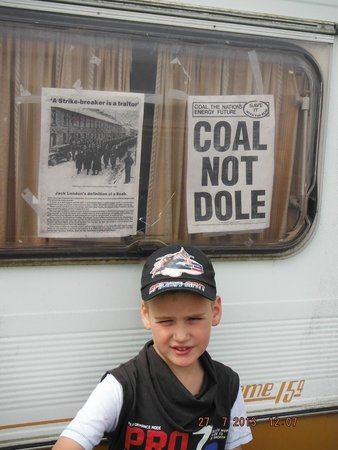 Big Pit:  National Coal Museum: maggie days