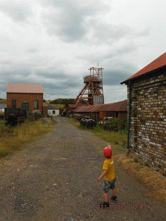 Big Pit:  National Coal Museum: great views
