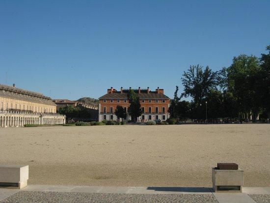 NH Collection Palacio de Aranjuez: Vista desde el Palacio Real