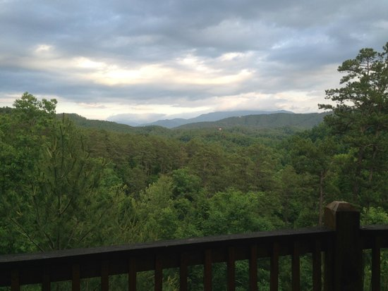 Accommodations by Parkside Resort : View from deck