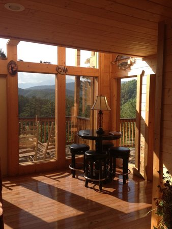 Accommodations by Parkside Resort : View from family room