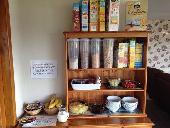 The Grainary: Breakfast Bar