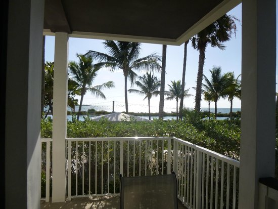 Hawks Cay Resort: From the room