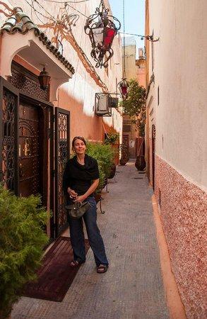 Riad Anabel: outside the Riad