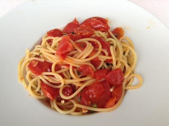 Ristorante Franchino: Spaghetti Arrabbiata