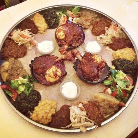 La Reine de Saba: Set menu for 3 people - 17.50€ each