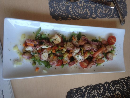 Restaurante Bel Posto: ensalada templada de pulpo, buenisssima