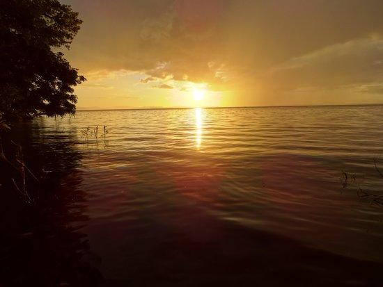 Finca Mystica: Sunset at the beach