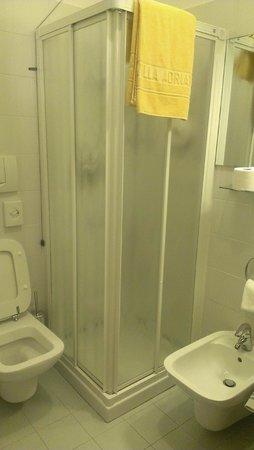Hotel Villa Adriana : Душевая кабина