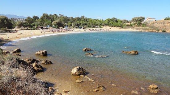 Golden Sand Hotel: Agioi Apostoloi beach
