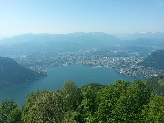 Belvedere della Sighignola: la città di Lugano