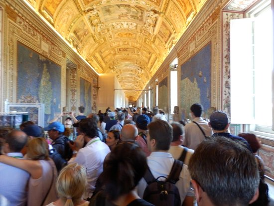 Vatikanische Museen (Musei Vaticani): The map room