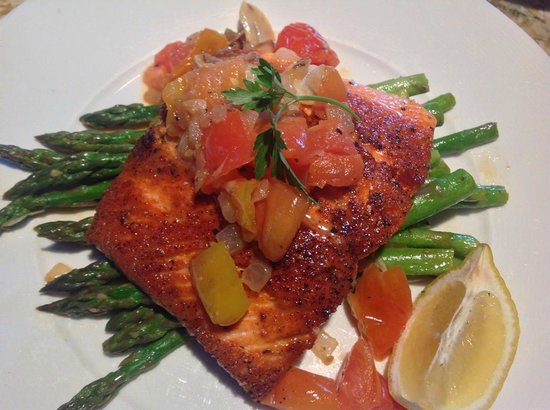 Adriatic Grill - Italian Cuisine & Wine Bar: Copper River Salmon