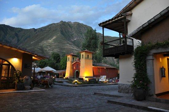 Sonesta Posadas del Inca Yucay: Die kleine Kirche im hinteren Teil des Gartens