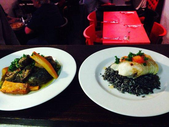 les nourritures terrestres: Assiette