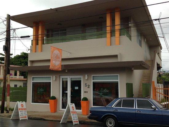 Lluvia Deli Bar & Artefacto: Outside of Lluvia