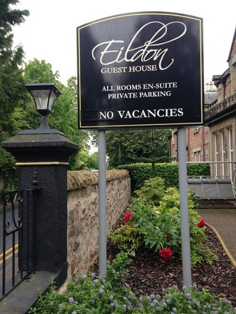 Eildon Guest House: The lovely property and entrance.
