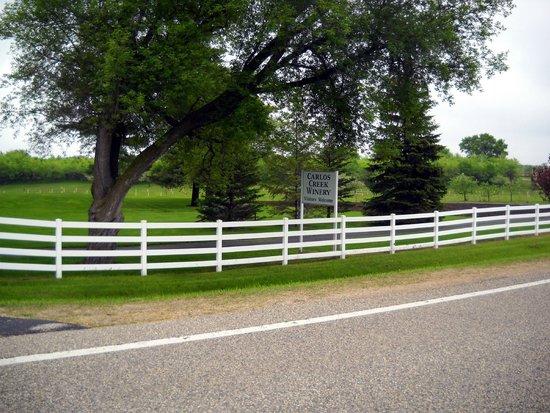 Entrance to Carlos Creek Winery