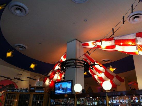 Circo : Foto da decoração no interior do ambiente