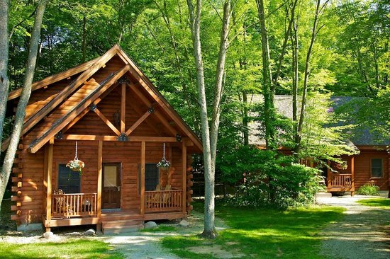 Merveilleux Swan Lake Resort: Log Cabin